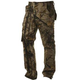 Pánské kalhoty loshan MXD vzor Real tree tmavé