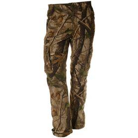 Loshan Sidney pánské kalhoty vzor Real tree hnědé