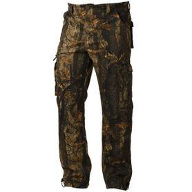 Loshan DarkForrest pánské zateplené kalhoty vzor Real tree tmave
