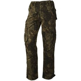 Loshan Leafy pánské zateplené kalhoty vzor Real tree tmavé