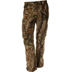 Loshan Sidney pánské zateplené kalhoty vzor Real tree hnědé