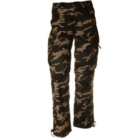 Pánské zateplené kalhoty loshan igancio vzor woodland