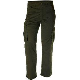 Pánské zateplené kalhoty Loshan disaster olivové