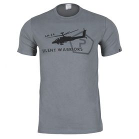 Pentagon Helicopter tričko, šedé