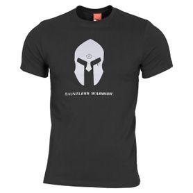 Pentagon Spartan Helmet tričko, černé