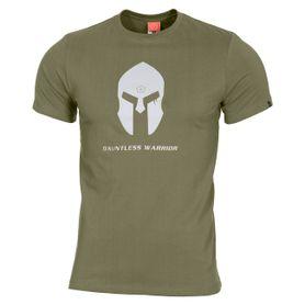 Pentagon Spartan Helmet tričko, olivové