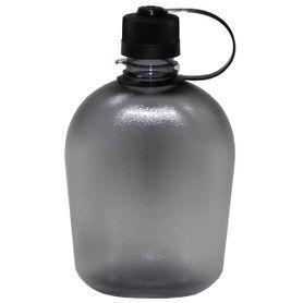 Polní láhev transparentní černá, 1l