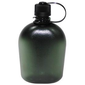 Polní láhev transparentní olivová, 1l
