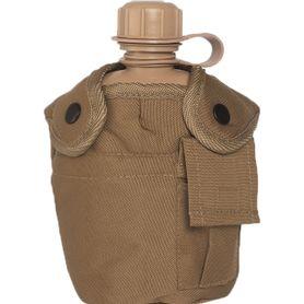 Mil-Tec US polní láhev US Coyote 1l s ALU miskou