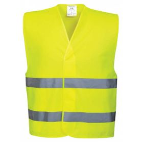 Reflexní vesta uni, žluto-zelená