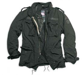 Surplus Regiment M65 bunda, černá