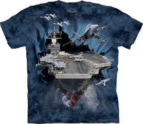 The Mountain 3D tričko letadlová loď, unisex