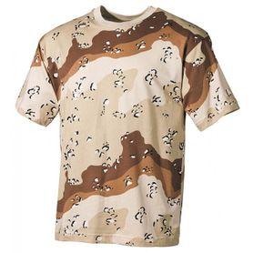 MFH maskáčové tričko vzor 6 col desert, 160g/m2