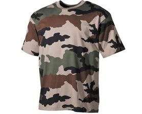 MFH maskáčové tričko vzor CCE tarn, 160g/m2