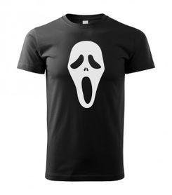 O&T krátké tričko scary movie, černá 160g/m2