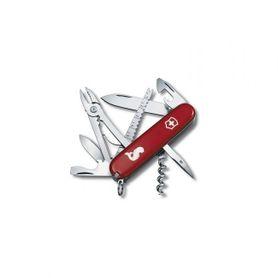 Victorinox kapesní nůž červený 91mm Angler