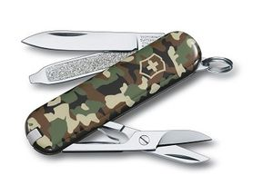 Victorinox kapesní nůž maskáčový 58mm Classic camo