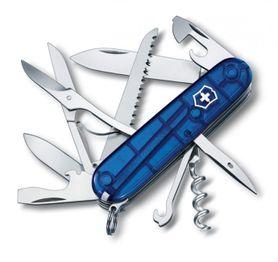 Victorinox kapesní nůž transparentní 91mm Huntsman modrý