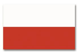 Vlajka Polsko, 150cm x 90cm