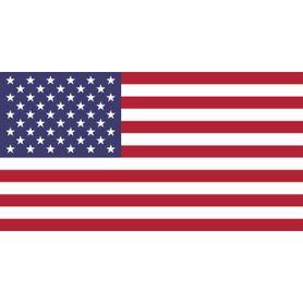 Vlajka Spojených států amerických, 150cm x 90cm