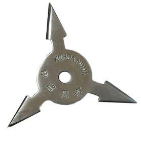 Vrhací hvězdice, shuriken, 3 CIPA, stříbrná