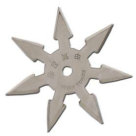 Vrhací hvězdice, shuriken, 7 CIPA, stříbrná