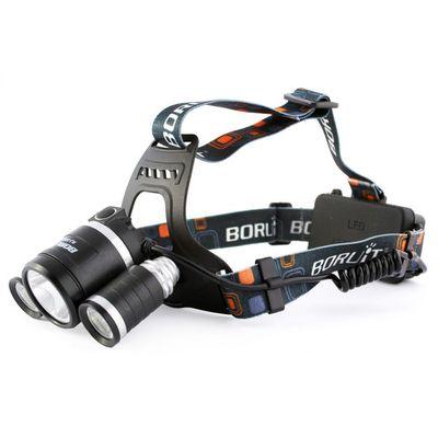 f1c332784 Boruit čelovka dobíjecí 3x LED 9W | ArmySector