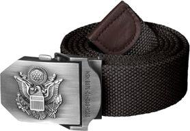 Helikon USMC pásek s kovovou sponou, černý