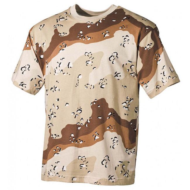 f682a9be9884 ... MFH maskáčové tričko vzor 6 col desert